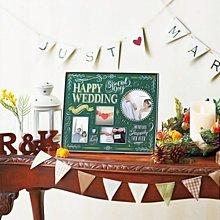 日本Ladonna HAPPY WEDDING歡樂婚禮金屬多格相框/ BJ22-40/ 婚禮佈置婚宴擺設