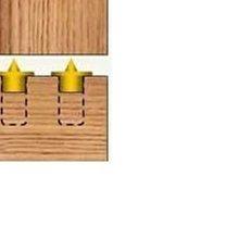 【木頭人】8mm 木榫中心定位器 木釘定位器 不銹鋼材質 木釘 木榫 接榫 木板