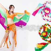 《時尚寶盒》#F256_單條蕾絲編配色織辮花朵造型腰飾_多款_肚皮舞/表演/成果展