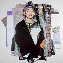 【特價現貨】金泰亨 Kim Tae Hyung個人海報8張裝 BTS防彈少年團 明星牆貼紙壁紙 生日禮物 42*29CM