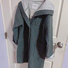 專櫃米多莉亞毛呢大衣外套 灰 全新