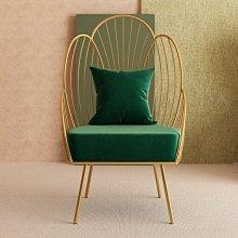 沙發椅北歐輕奢單人沙發椅懶人陽臺家用休閑躺椅臥室客廳現代簡約式小椅