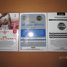 網拍讀賣~Marcus Morris~活塞隊球星~RC簽名卡~auto~普特卡~共3張~200元~輕鬆付~非常少見~~