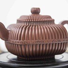 顧景舟筋紋 茶壺 有證書