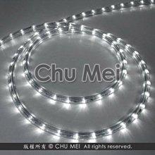 110V-白光LED三線非霓虹燈50米 - led 燈條 彩虹管 圓三線 非霓虹 水管燈 聖誕燈 管燈 條燈 裝飾燈