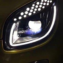 威鑫汽車精品 Smart LED總成大燈 一組32000元 另有光柱一抹藍版本 台中大里可安裝 15 16 17 18年