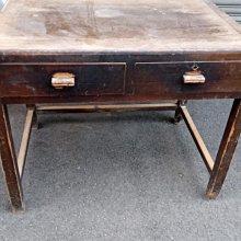 *阿柱的店*老書桌 老檜木