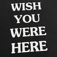Travis Scott 專輯限定 wish you were here  短袖T恤 短TEE 男女