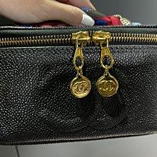 「已售出」香奈兒 Chanel 化妝包 化妝箱 老香 復古 手提 斜背 鍊包