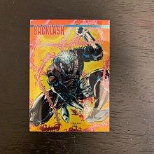 1994 WILDSTORM BRETT BOOTH 美國漫畫家BACKLASH 親筆簽名 收藏卡 卡片