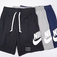 nike alumni 短褲 運動 大logo ar2376-010 黑 064 灰 男