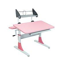 新博士兒童成長書桌椅 CT-769系列 粉彩色含抽屜+天使造型書架