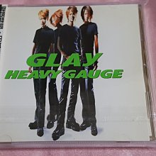 R日語(二手CD)GLAY~HEAVY GAUGE~有側標~雙歌詞~