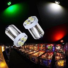 【PA LED】6.3V BA9S 4晶 SMD LED 指示燈 機台指示燈 機台燈 遊戲機燈 遊戲機台燈 燈泡