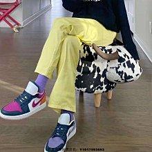 Nike Air Jordan 1 Low AJ1 復古 低幫 鴛鴦 拼接 粉紫 籃球鞋 DJ4342-400 女鞋