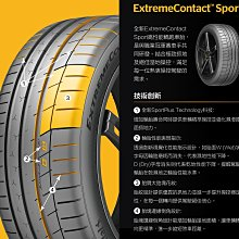 小李輪胎 德國馬牌 ExtremeContact Sport (EXC SP) 245-40-20 特價 各規格歡迎詢價