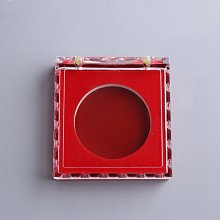 熱銷款-徽章盒塑膠盒水晶盒ps亞克力膠盒徽章盒亞克力徽章塑料盒