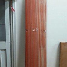 ……阿和木材……紅酸枝木板尺寸:125x29x3.2公分