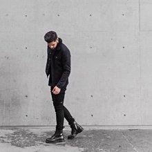 Dr.Martens 馬丁鞋 馬汀鞋 經典1460 8孔  黑色 硬皮【 BRITISH LOOK 】