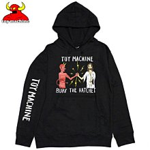 Toy Machine - Bury The Hatchet Hoodie 黑色 帽TEE 現貨販售