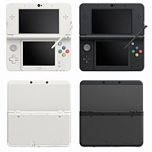 NEW 3DS主機(日規 黑/白)+3DS神奇寶貝 X版或Y版 +保護貼+硬殼包+  充電器 特價:7280(小強電玩)