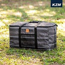 丹大戶外【KAZMI】彩繪民族風裝備收納袋130L K20T3B003 保護袋│提袋│防塵袋│大型工具袋│裝備袋│收納箱