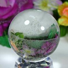 孟宸水晶 = A9037 (100%天然超清透白水晶球289克)