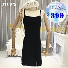 JYUN'S 夏季新款純色打底連衣裙吊帶裙女中長款修身百搭顯瘦無袖裙子洋裝 1色 現貨
