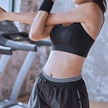 愛運動~防走光運動翹臀短褲/彈力修身顯瘦排汗透氣速乾安全反光印花/跑步健身綜合訓練運動休閒短褲   R3225