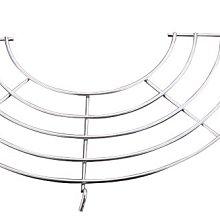 瀝油架半圓形(直徑21.6cm)-多個可組合蒸架、瀝油網、滴油架、隔熱墊 、滴油、蒸盤