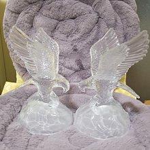 馬來西亞購買 老鷹 水晶玻璃擺飾 擺件
