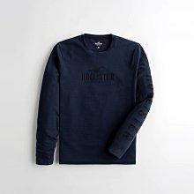 【HOLLISTER Co.】【HCO】HC男款長袖T恤藍鷗藍字藍 F02210406-20