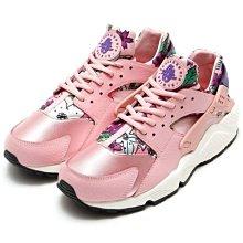 Nike Air Huarache Run Ultra 武士鞋 粉 櫻花粉 花卉 慢跑鞋 女鞋 725076-600