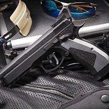 JHS((金和勝 生存遊戲專賣))免運費 KJ 黑鋼化版 SP-01 ACCU 瓦斯手槍 4271
