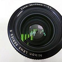 NIKON原廠 AIS SERIES E 36-72MM廣角變焦鏡,恆定光圈F3.5 NIKON 星芒美鏡 全幅機