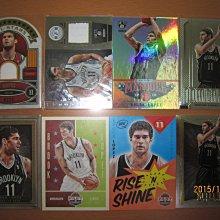 網拍讀賣~Brook Lopez~籃網隊球星~肉配汁~限量球衣卡/599~球衣卡~灰框限量卡/149~普特卡~共8張~