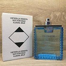 ❥戀香水➻ Versace Eau Fraiche 凡賽斯 雲淡風輕 男性淡香水 100ML (Tester試用瓶)