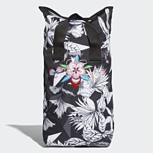 [歐鉉]ADIDAS ORIGINALS ROLL-TOP BACKPACK 黑 花 滿版 後背包 CE5644
