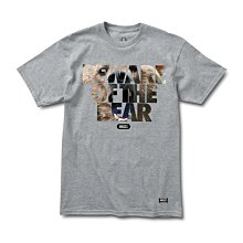 [WESTYLE] Grizzly Griptape Predatory Attack Tee 灰 短T