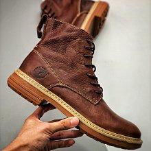 正品Timberland天伯倫/添柏櫃男鞋護外休閑 經典油蠟牛皮新款馬靴A-B77662