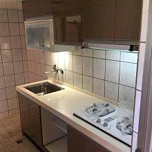 名雅歐化廚具212公分大陸石檯面+上櫃F1木心桶身+下櫃F1木心桶身+四面封美耐門板+豪山三機