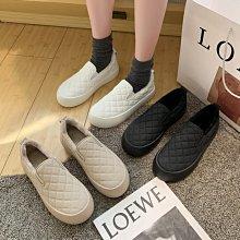 毛毛樂福鞋 DANDT 菱格紋絨毛樂福鞋(20 DEC)同風格請在賣場搜尋 BLU 或 歐美女鞋