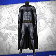 【可開發票】漫天際 正義聯盟蝙蝠俠cos布魯斯·韋恩連體衣緊身衣cosplay服裝[Cos-精選]