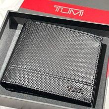 TUMI TUMI男生 黑色抗耐磨 3夾層卡夾 雙層鈔票層 超抗磨防刮防皺材質 全新正品 美國官網購回 含原盒裝 現貨在台