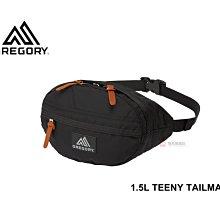 -滿3000免運-[雙和專賣店] GREGORY 1.5L TEENY TAILMATE腰包/GG119651/黑