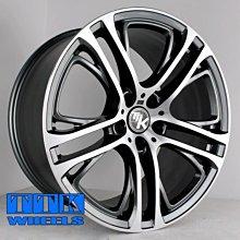 【小茵輪胎舘】新款 BMW X5 / X6 專用鋁圈 鑄造 & 鍛造 20吋 5孔120 前後配 10J+11J 灰車面