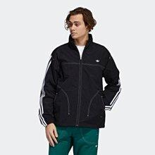 【E.P】ADIDAS SUMMER B-BALL 復古外套 全黑 白色 百搭 防風外套 男款 GD2057