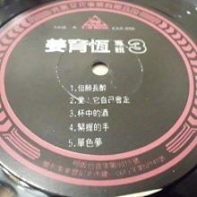 【杜比唱片】 黑膠唱片 ~  姜育恆  //  但願長醉 / 杯中的酒         (稀少盤) *** LP ***