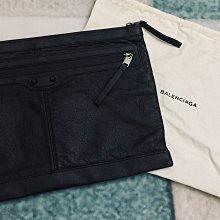 BALENCIGA 巴黎世家 黑色小羊皮手拿包(售出)