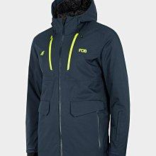 【荳荳物語】波蘭品牌4F男款雪衣素色款,防水係數15k,(S~2XL)特價4280元
